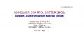 Maneuver Control System, System Administrator Manual